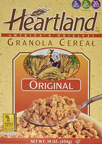 Heartland Granola Cereal, Original, 16-Ounce Box (Pack of 6)