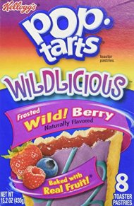 Pop Tarts Wildlicious Frosted Wild! Berry (3 pack)
