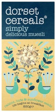Dorset Cereals – Muesli – Simply Delicious Muesli – 850g (Case of 5)