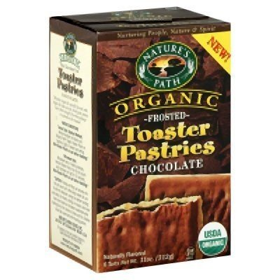 Nature's Path Frosted Toaster Pastry – Chocolate – 11 oz – 6 ct