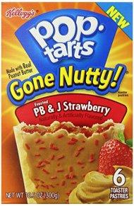Pop-Tarts, PB and J Strawberry, 10.5 Ounce