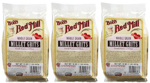 Bob's Red Mill Millet Grits/Meal, 16 oz, 3 pk