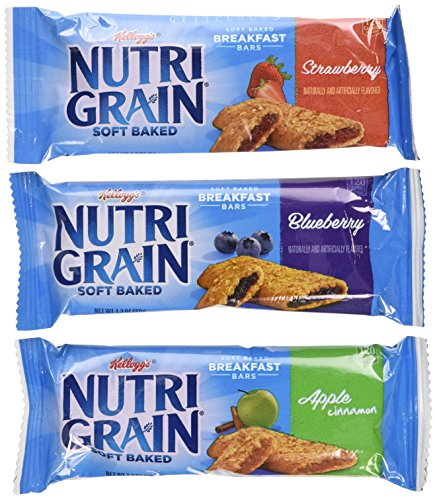 Nutri-Grain-Kellogg's Cereal Bars Variety Pack, 1.3 oz, 48-Count
