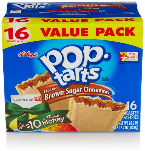 Pop-Tarts, Frosted Brown Sugar Cinnamon, 16 Count