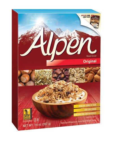 Alpen All Natural Muesli Cereal Original — 14 Oz(pack Of 2)