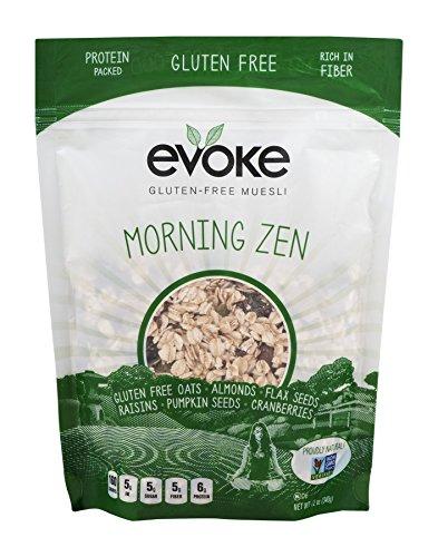 Evoke Morning Zen Gluten Free Muesli, 12 Ounce