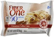 Fiber One 90 Calorie Bar, Cinnamon Coffee Cake, 0.89 Ounce Bar, 6 Count