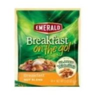Emerald Breakfast On The Go Glazed Walnuts Breakfast Nut Blend, 1.5 Ounce — 48 per case.