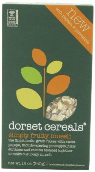 Dorset Cereals Simply Fruit Muesli, 12-ounces (Pack of 5)