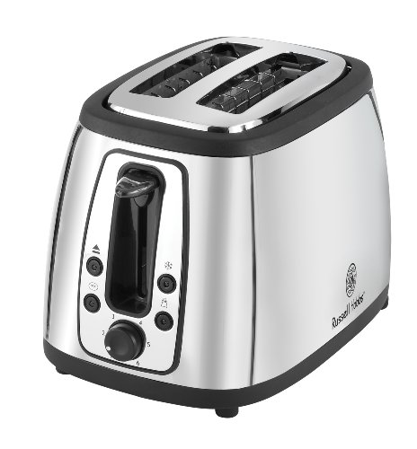Russell Hobbs TR9198S 2 Slice Toaster, Stainless Steel