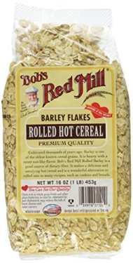Bob's Red Mill Barley Rolled Flakes, 16-Ounce