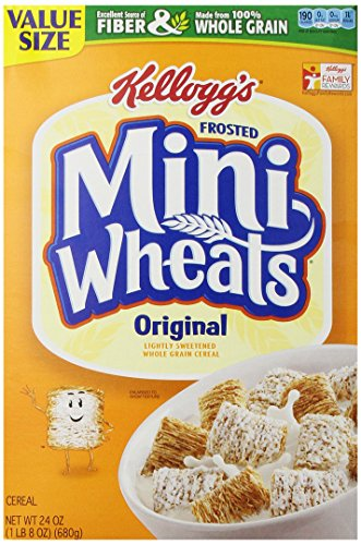 Frosted Mini-Wheats Cereal, 24 oz