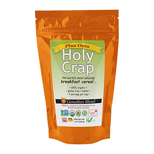 Holy Crap Plus Oats Breakfast Cereal, 11 Ounce