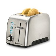 Toastmaster TM-23TS 2 Slice Toaster, Stainless Steel