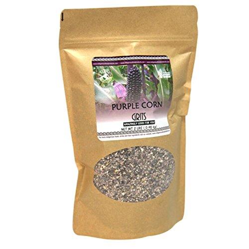 Non-GMO Purple Corn Grit – 2 Lb Bag