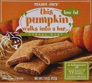 Trader Joe's This Pumpkin Walks Into a Cereal Bars, (4 Boxes)