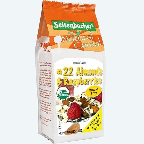 Seitenbacher Muesli #22 – Rapsberries & Almonds 16 Oz (12 Pack Case)