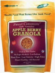 Dixie Carb Counters Sweet Commute Carb Controlled Apple Berry Granola – No Sugar Alcohols!