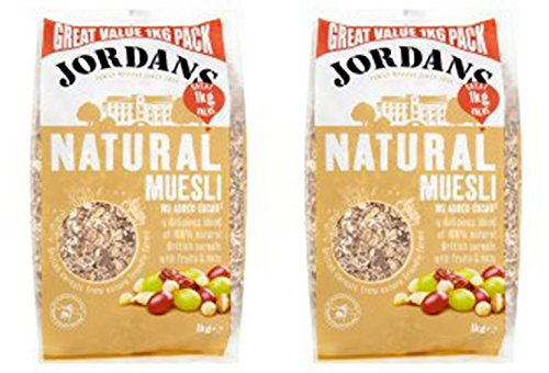 (2 Pack) – Jordans – Natural Muesli   1000g   2 PACK BUNDLE
