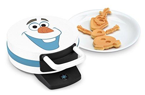 Disney DFR-15 Olaf Frozen Waffle Maker, White