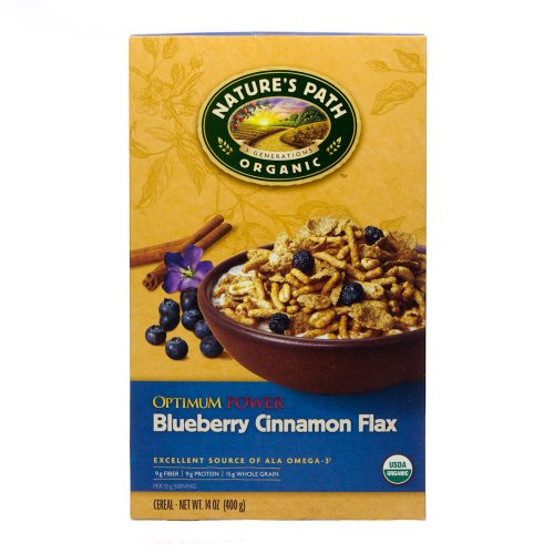 Nature's Path Organic Optimum Cereal Blueberry Cinnamon — 14 oz
