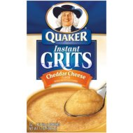 Quaker Instant Cheddar Cheese Flavored Grits, 12 – 1 Oz. Servings (1 Pack)