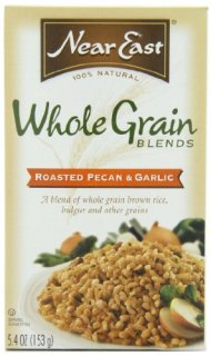 Near East Roasted Pecan & Garlic Creative Grains Mix, 5.4-Ounce Boxes (Pack of 12)
