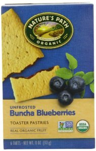 Nature's Path Organic Toaster Pastries, Blueberry, 6 Count