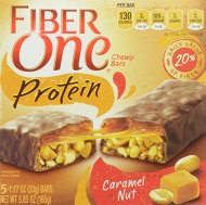 Fiber One Snacks Fiber One Protein Caramel Nut Chewy Bars, 5.85 Ounce Wrappers