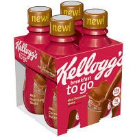 Kellogg's Breakfast to Go, Milk Chocolate Shake 4-10 oz. bottles (Pack of 4)