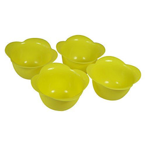 Egg Poacher Cups in Silicone Set of 4 From Savvy Kitchen