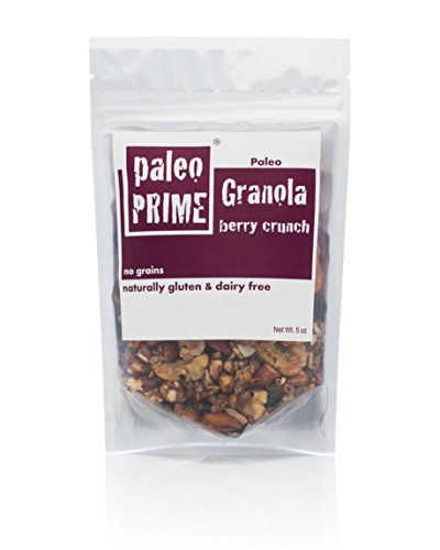 Paleo Prime Granola, Berry Crunch, 5 Ounce