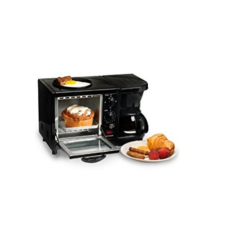 Maxi Matic Versatile 3-in-1 Mini Breakfast Maker-Black