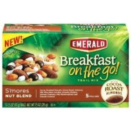 BREAKFAST on the Go! S'mores Nut Blend 5 pkts/1.5 oz each (Pack of 2)