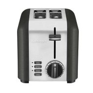 Cuisinart CPT-220TNFR 2 Slice Compact Toaster, Black