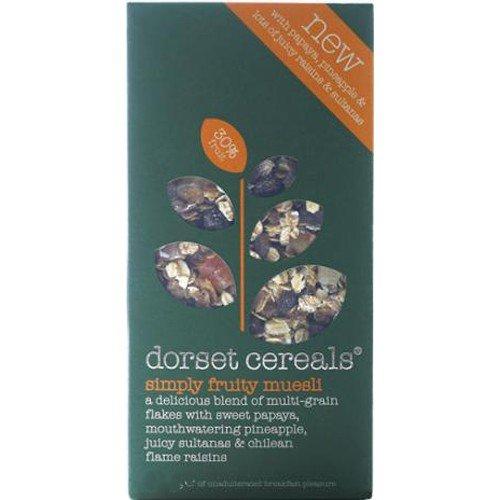 (2 Pack) – Dorset Cereal – Simply Fruity Muesli | 820g | 2 PACK BUNDLE
