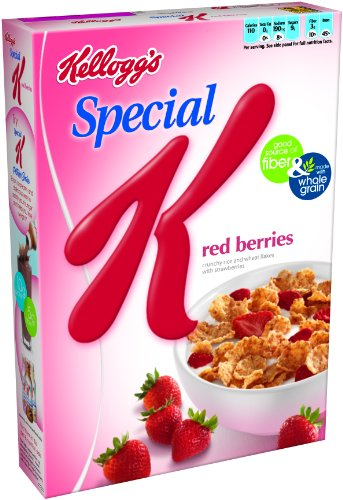 Special K Cereal, Red Berries, 12-Ounce Boxes (Pack of 4)