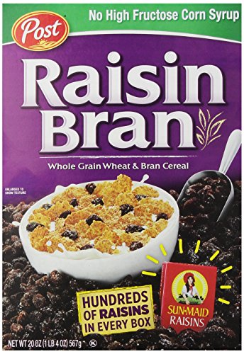 Post Raisin Bran Cereal, 20 oz