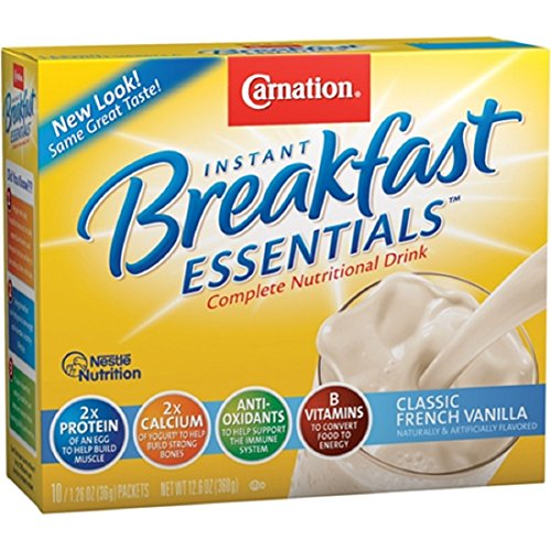 5000053062 Carnation Powder Instant Breakfast French Vanilla 12.6oz 10X6 Per …