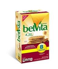 belVita Breakfast Biscuits, Cinnamon and Brown Sugar, 8 Count, 14.08 Ounce