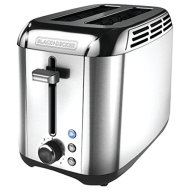 BLACK+DECKER TR3500SD Rapid Toast 2-Slice Toaster, Silver