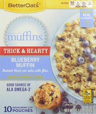 Better Oats Mmmmuffins, Blueberry, 15.1 Ounce