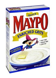 Homestate Farms Maypo Quick Maple Enriched Grit, 24 Ounce — 12 per case.