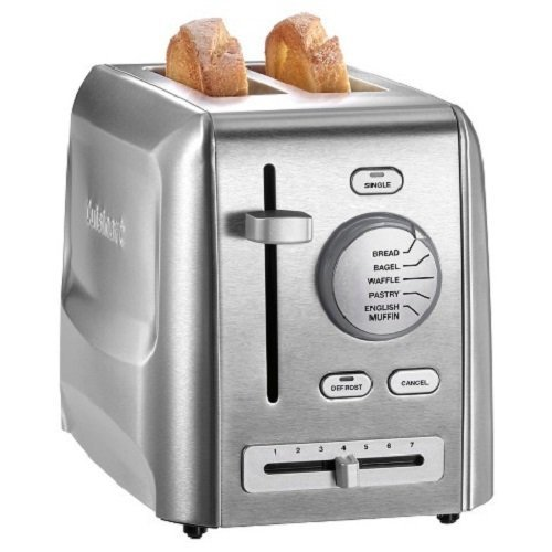 Cuisinart CPT-620 2-Slice Metal Toaster, Stainless Steel
