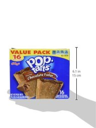 Pop Tarts Frosted Chocolate Fudge Value Pack 16 Pastries
