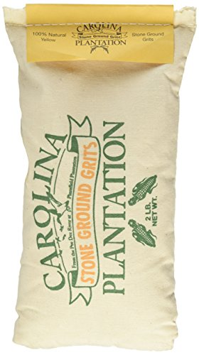Carolina Plantation Stone Ground Yellow Grits – 2 Lb Bag