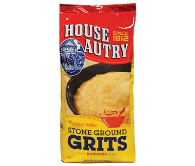 House Autry Yellow Stone Ground Grits 24 Oz