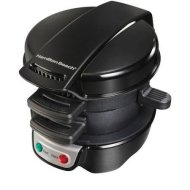 Hamilton Beach Breakfast Sandwich Maker, Black