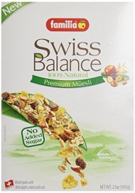 Familia Organic Swiss Muesli 21 oz. (Pack of 6)