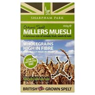 Sharpham Park Organic Spelt Miller's Muesli (450g)